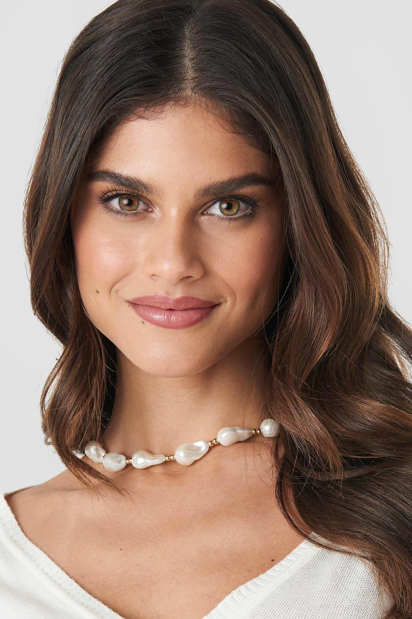 Connected Pearl Necklace NA-KD.COM