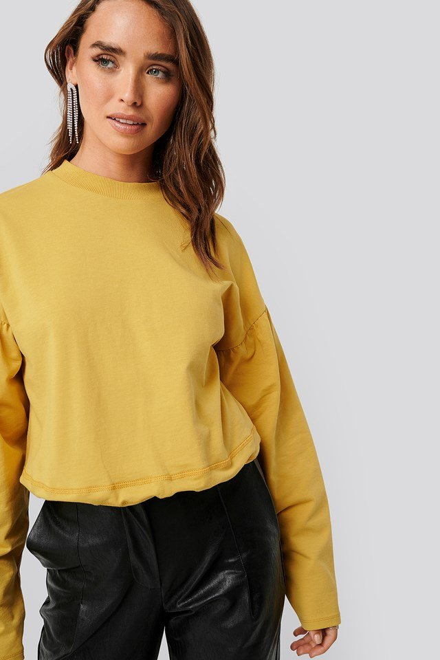 Contour Seam Deatil Sweater NA-KD Trend