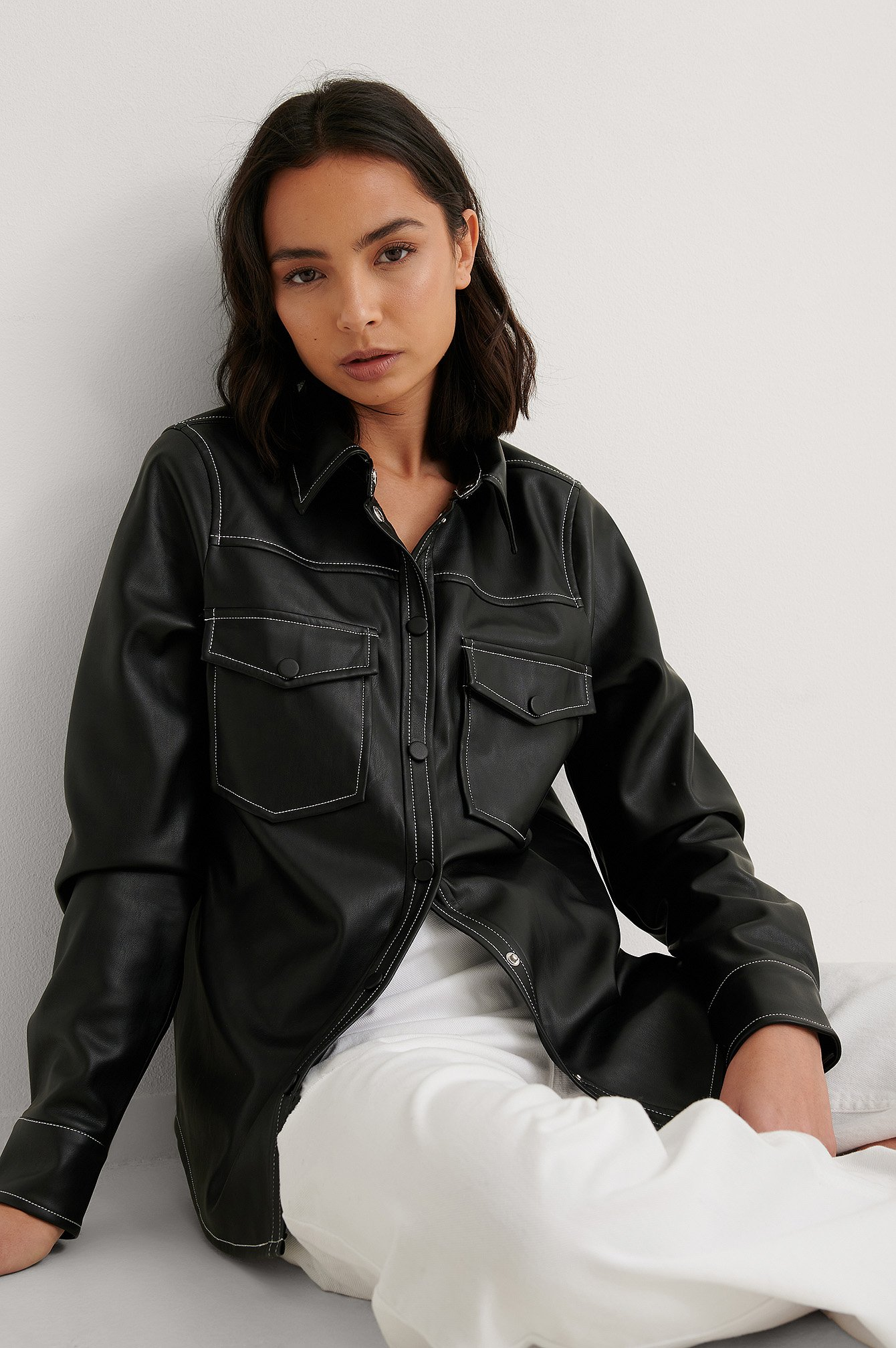 na-kd trend -  Pu Hemd - Black