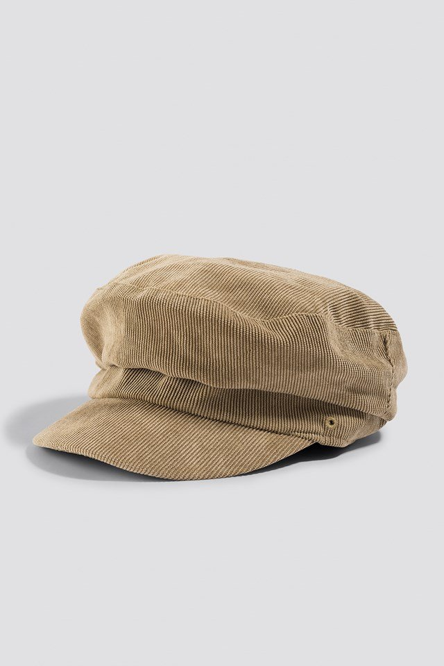 Corduroy Baker Boy Cap NA-KD.COM 9140b36d885