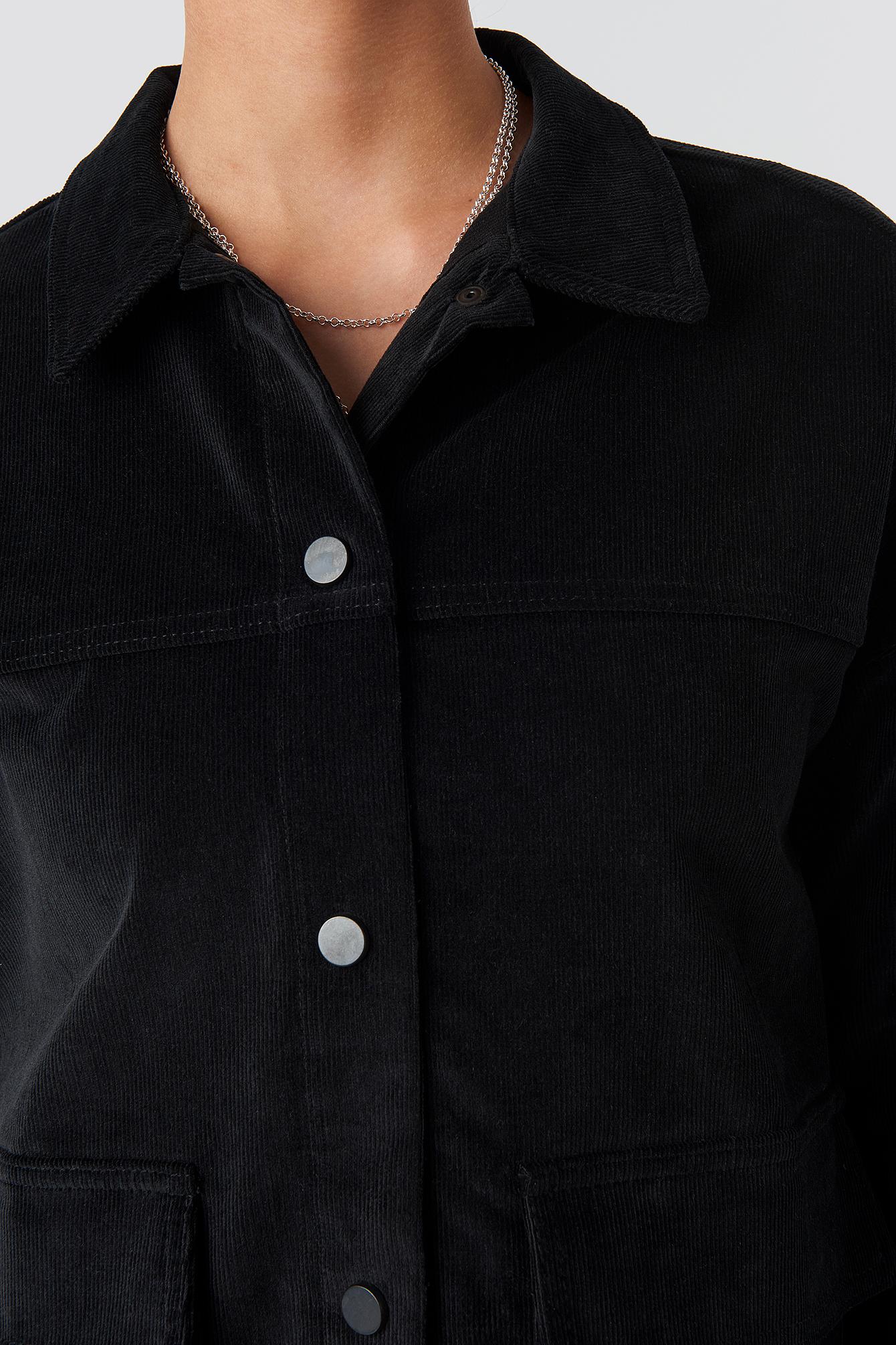 Corduroy Overshirt Jacket NA-KD.COM