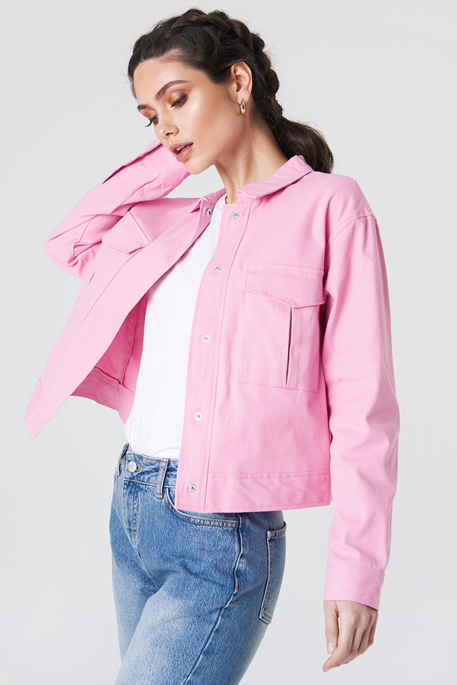 Cotton Short Jacket NA-KD