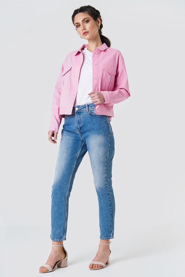 Cotton Short Jacket NA-KD.COM