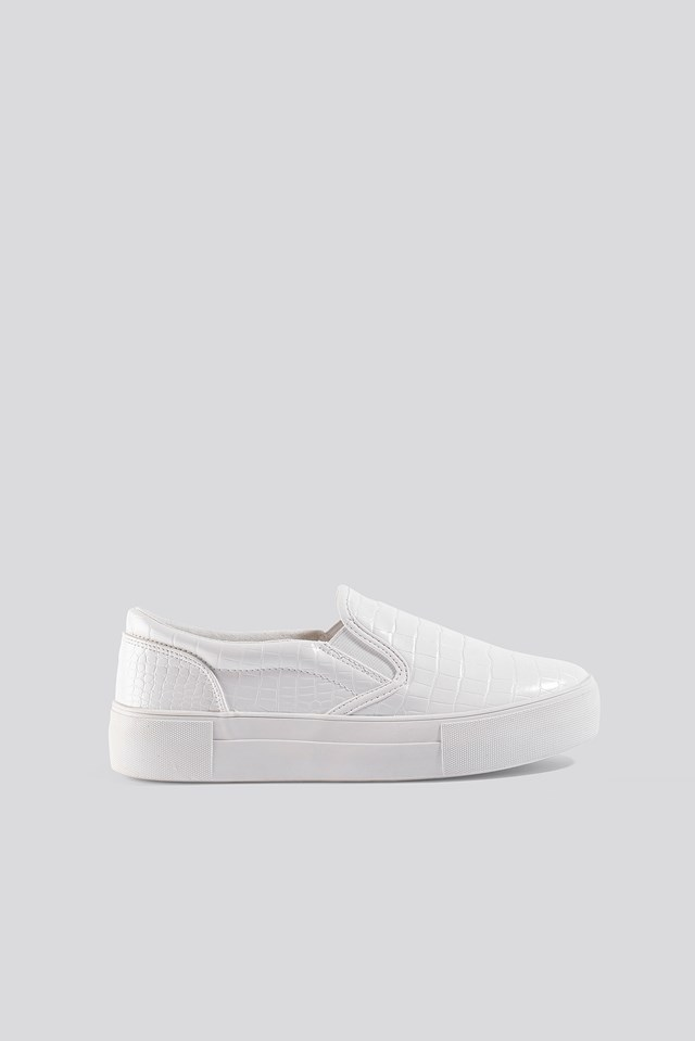 Crco Slip In Trainers White