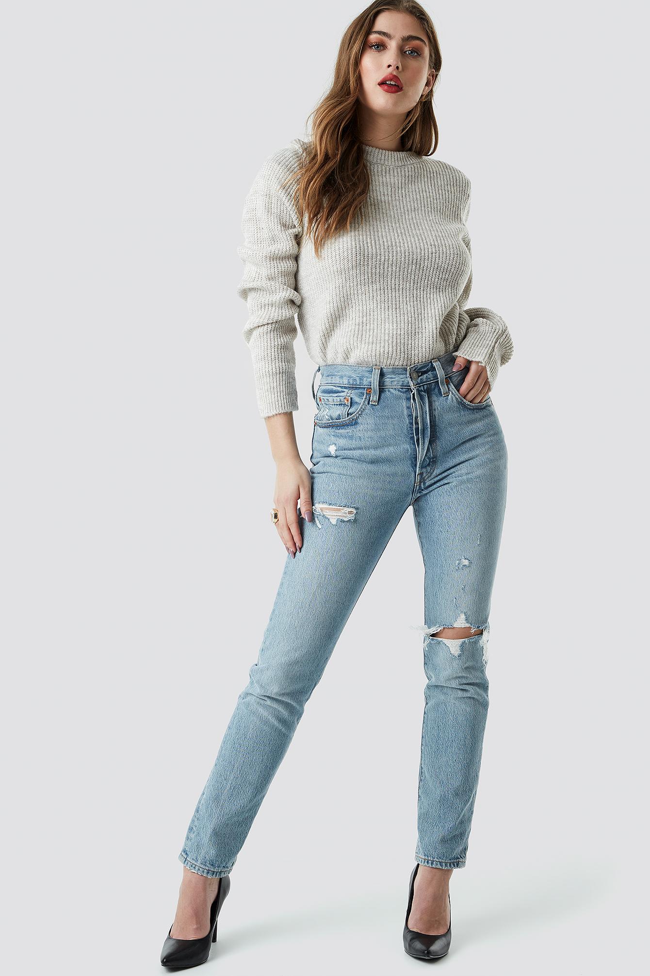Sweter z okrągłym dekoltem NA-KD.COM