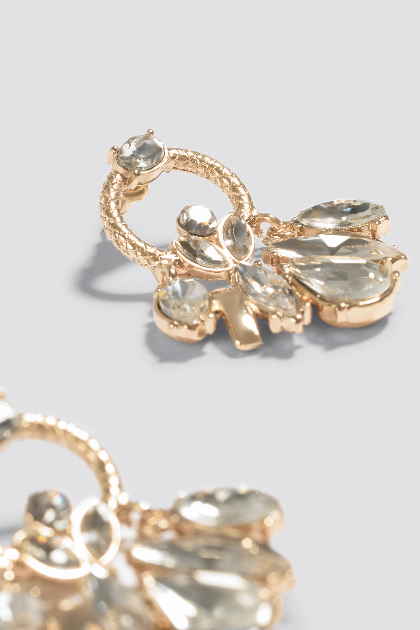 Cristal Marquise Rope Ring Earrings NA-KD.COM