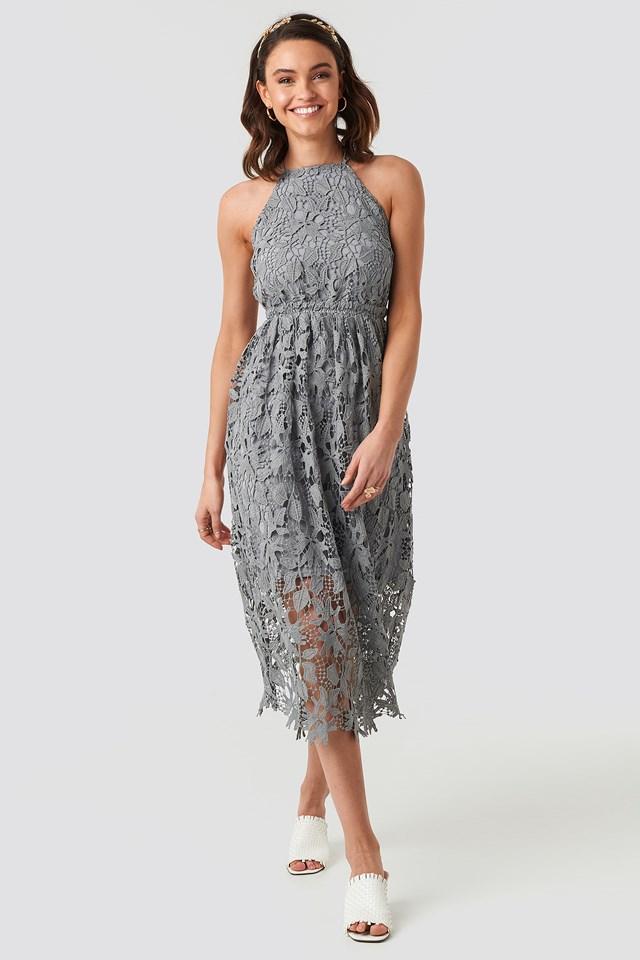 Crochet Strap Back Dress NA-KD.COM