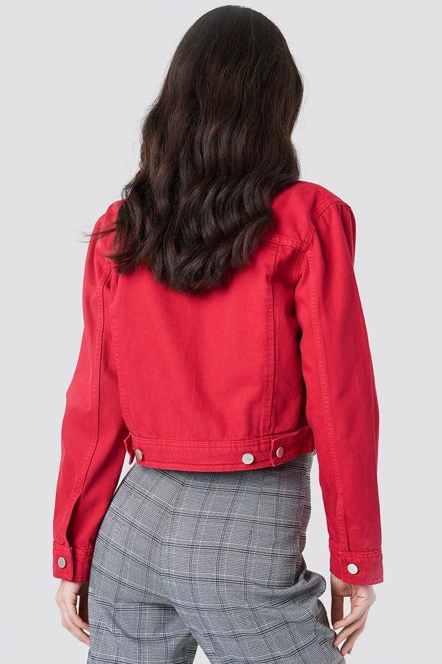 Cropped Denim Jacket NA-KD.COM