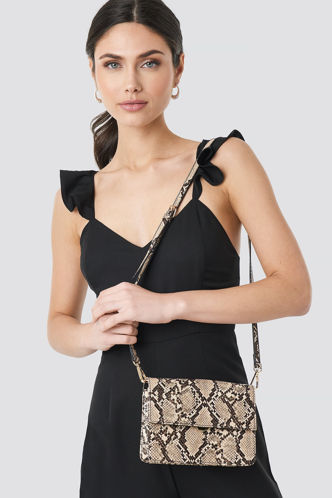 Cross Body Snake Bag NA-KD.COM