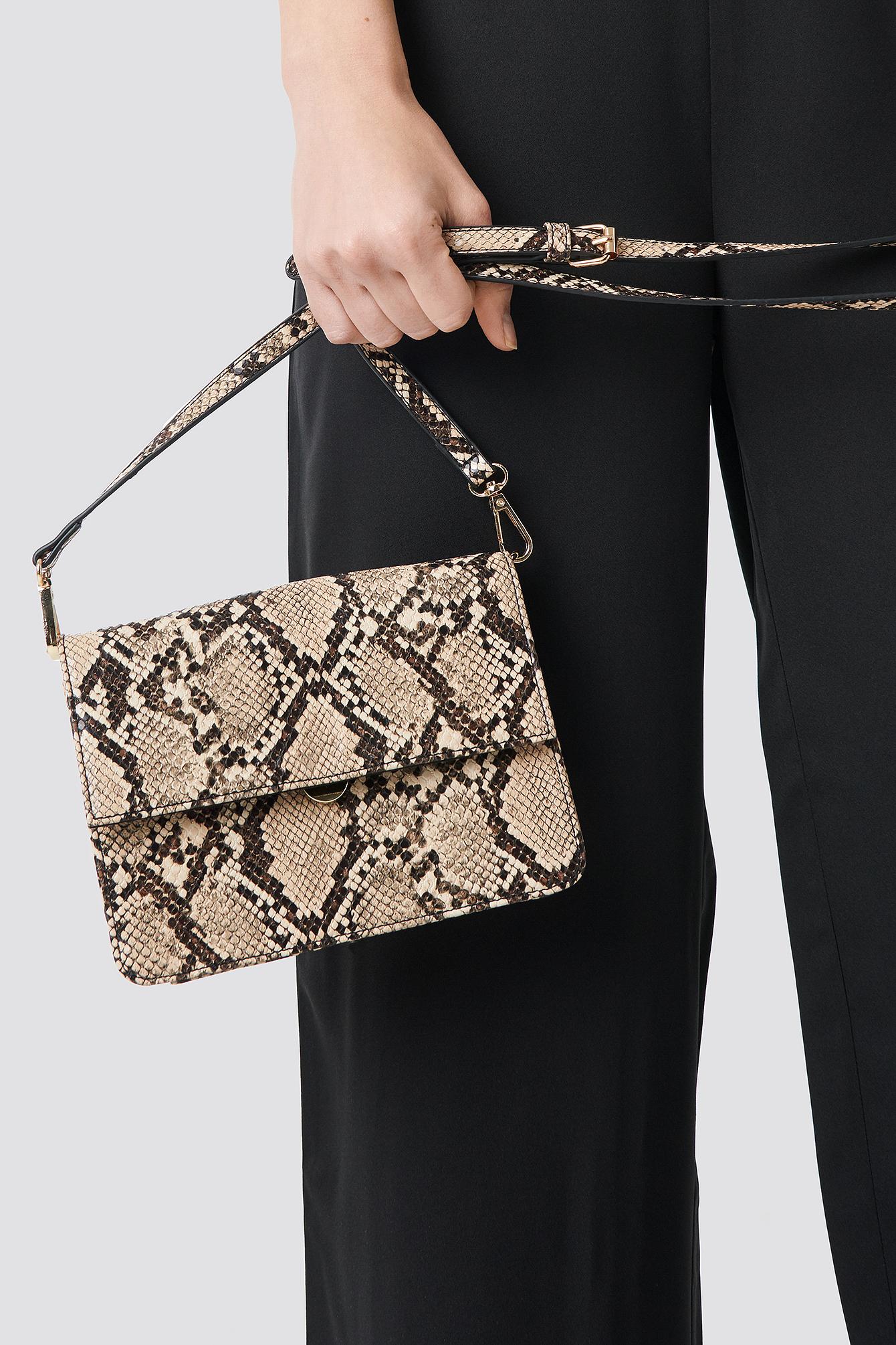 Cross Body Snake Bag NA-KD.COM