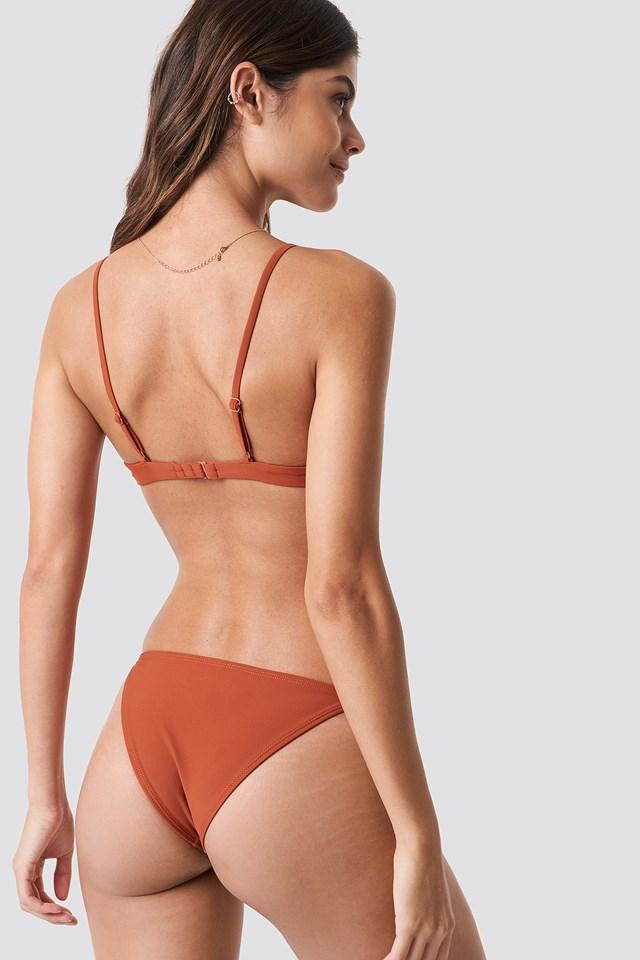 Cup Bikini Bra Rust