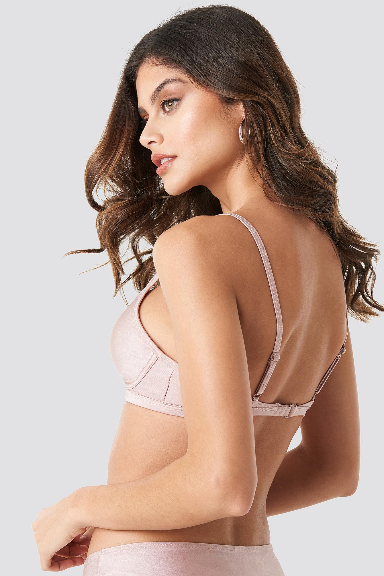 Cup Shape Bikini Top NA-KD.COM