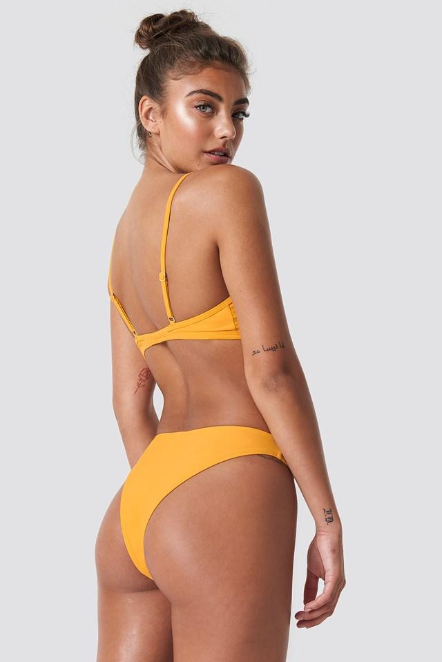 Cup Shape Bikini Top Citrus