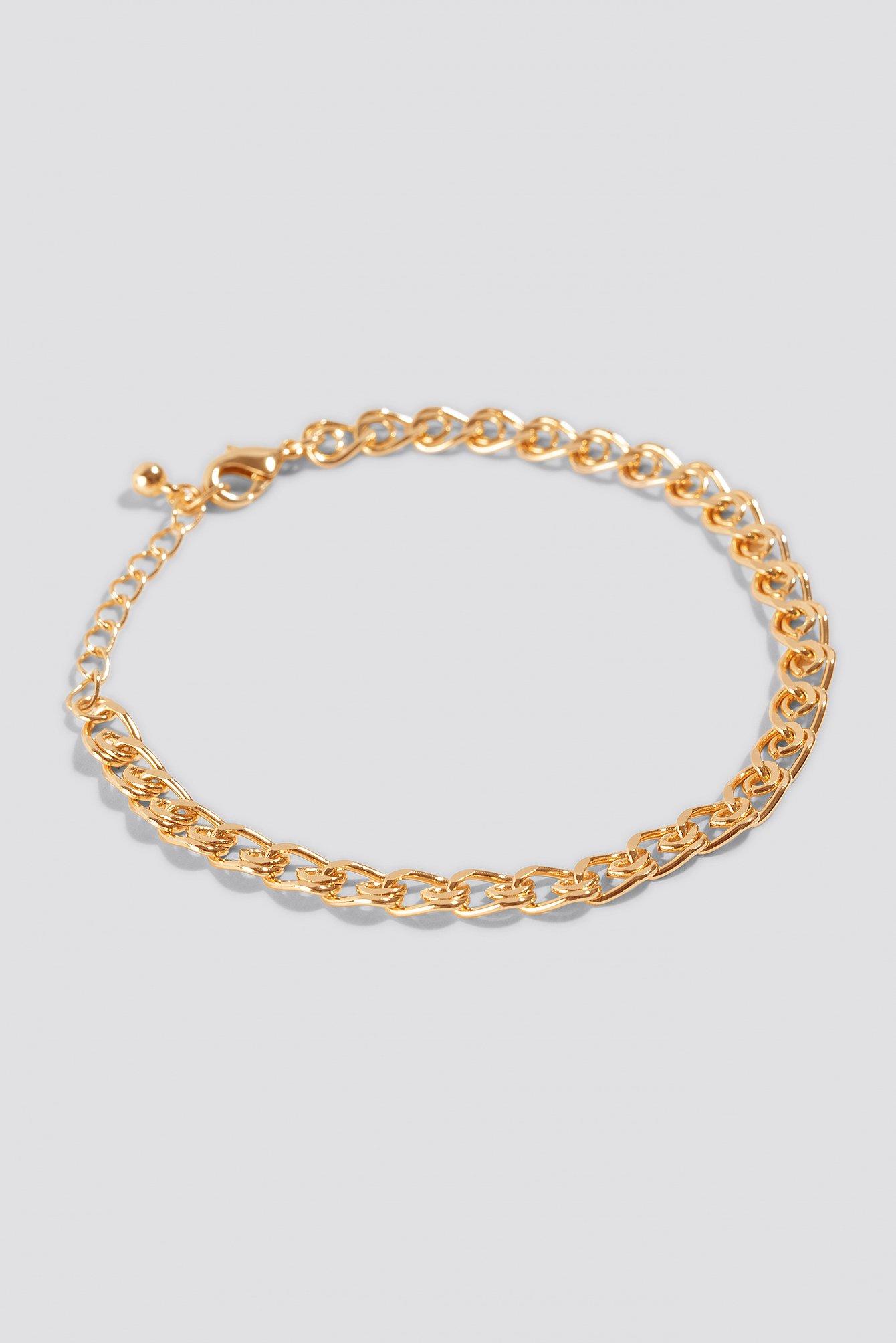 Curb Chain Bracelet NA-KD.COM
