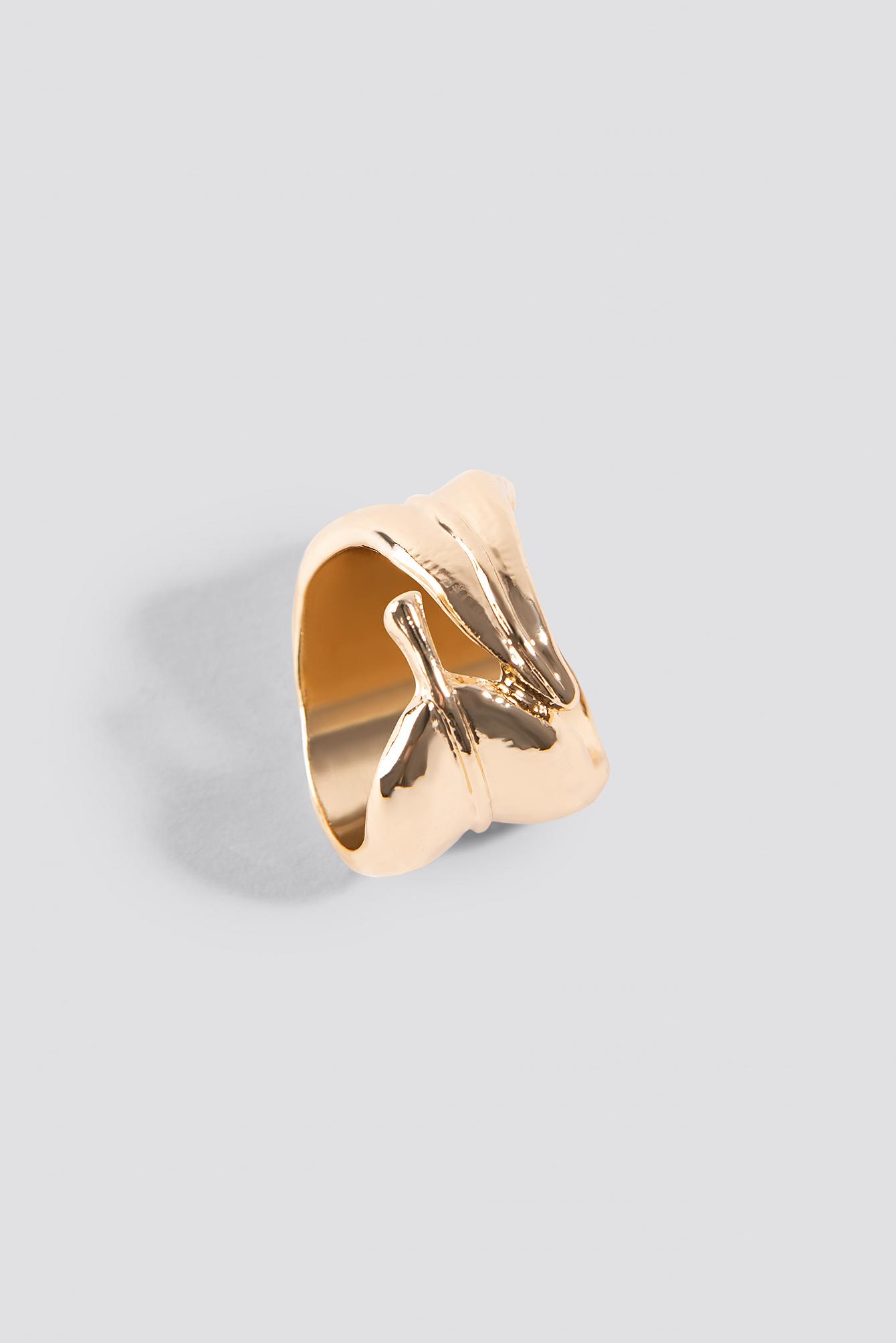 Curled Leaf Ring NA-KD.COM