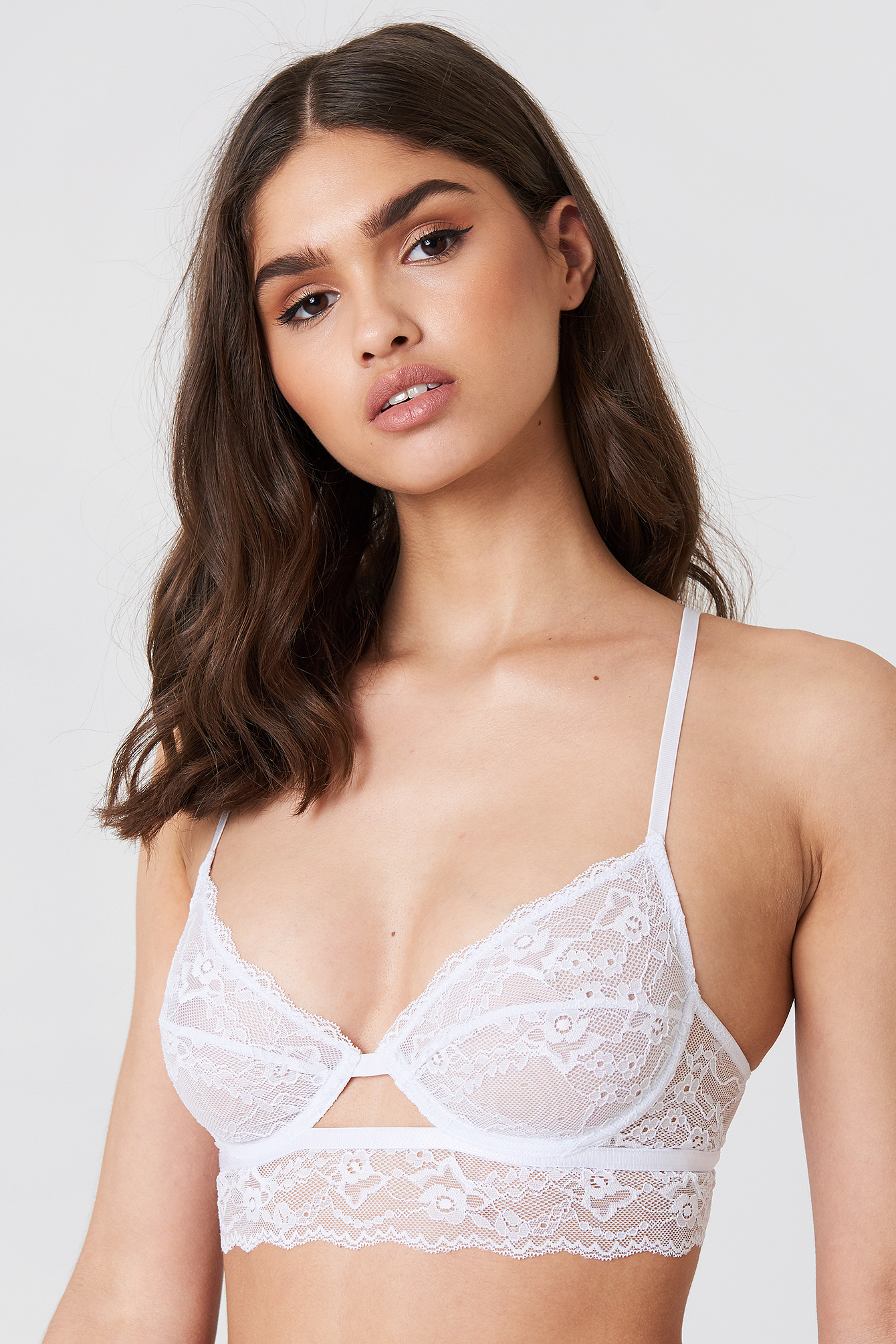 Cut Out Lace Cup Bra NA-KD.COM