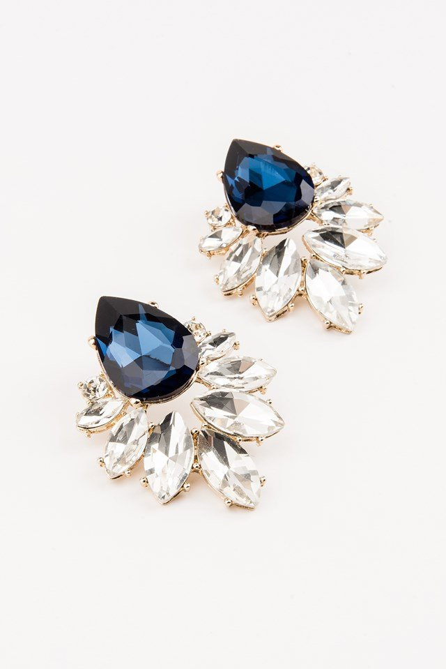 Bigger Diamond Earrings NA-KD.COM
