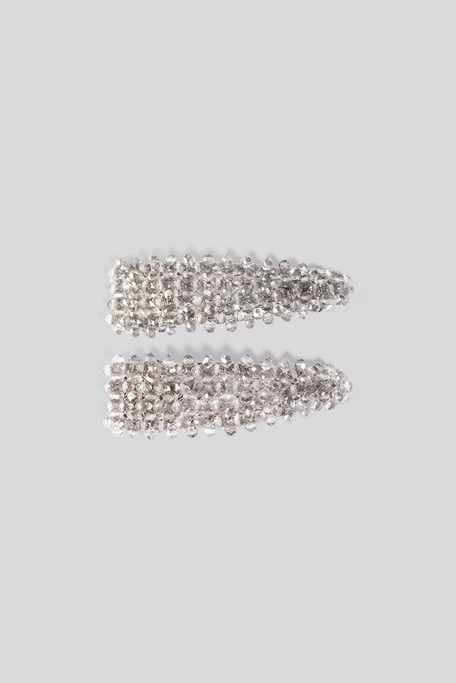 Dark Pearl Hairclips NA-KD Accessories