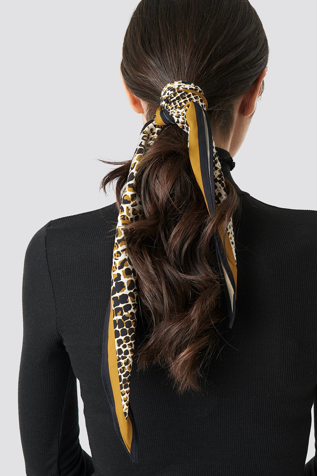 na-kd accessories -  Dark Snake Hair Scarf - Multicolor