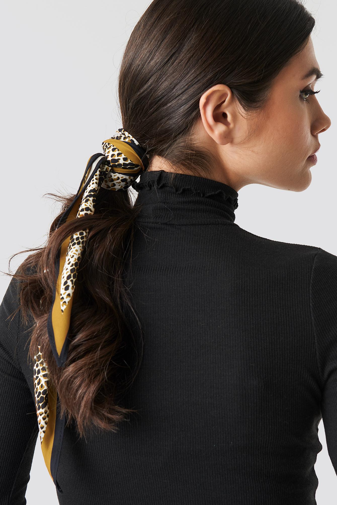 Dark Snake Hair Scarf NA-KD.COM