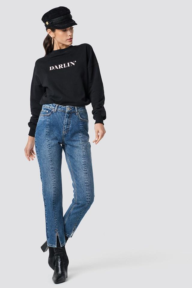 Darlin' Sweatshirt Black
