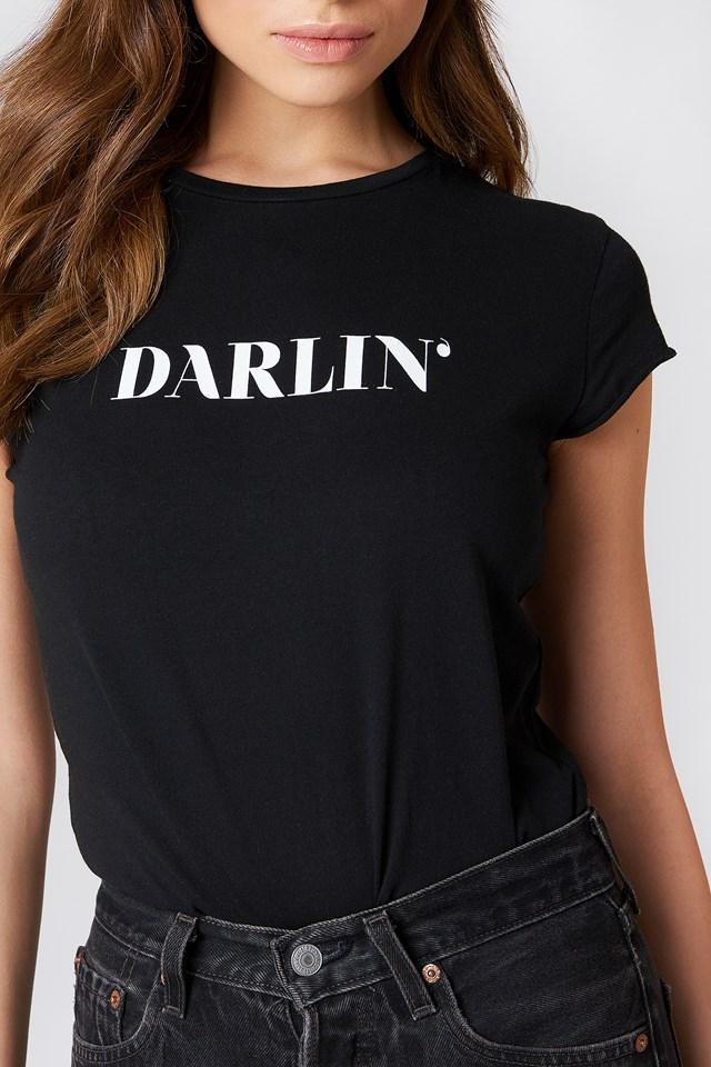 Darlin' Tee Black