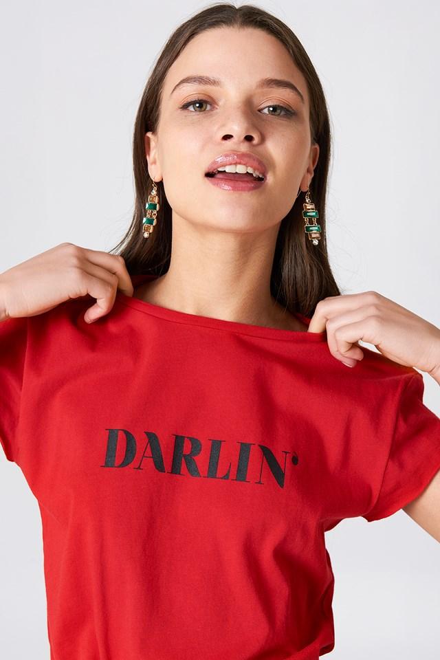 Darlin' Tee Red/Black