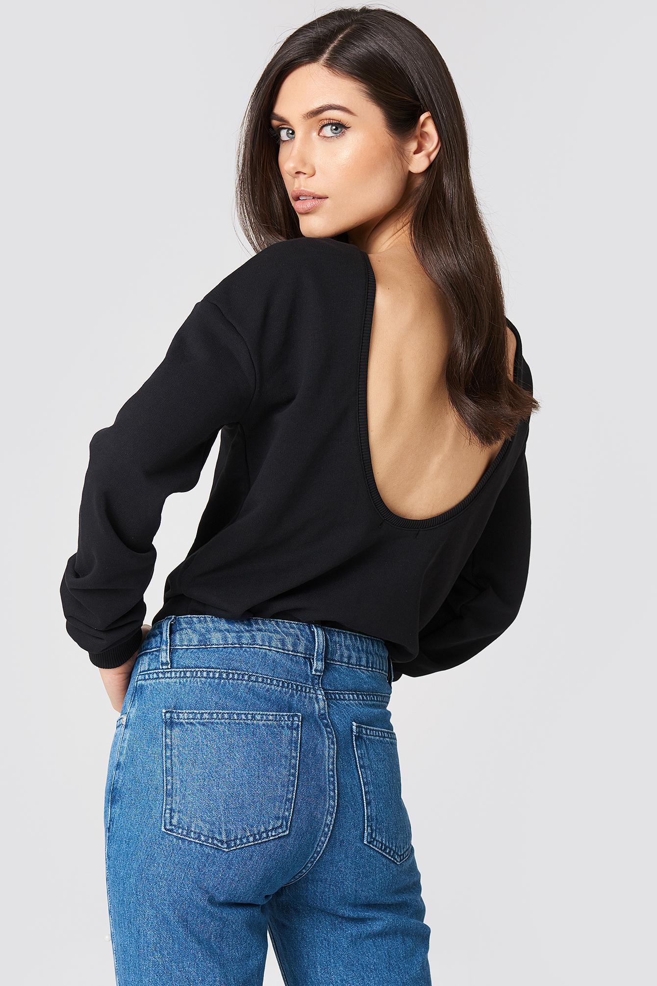 Deep Back Sweater NA-KD.COM