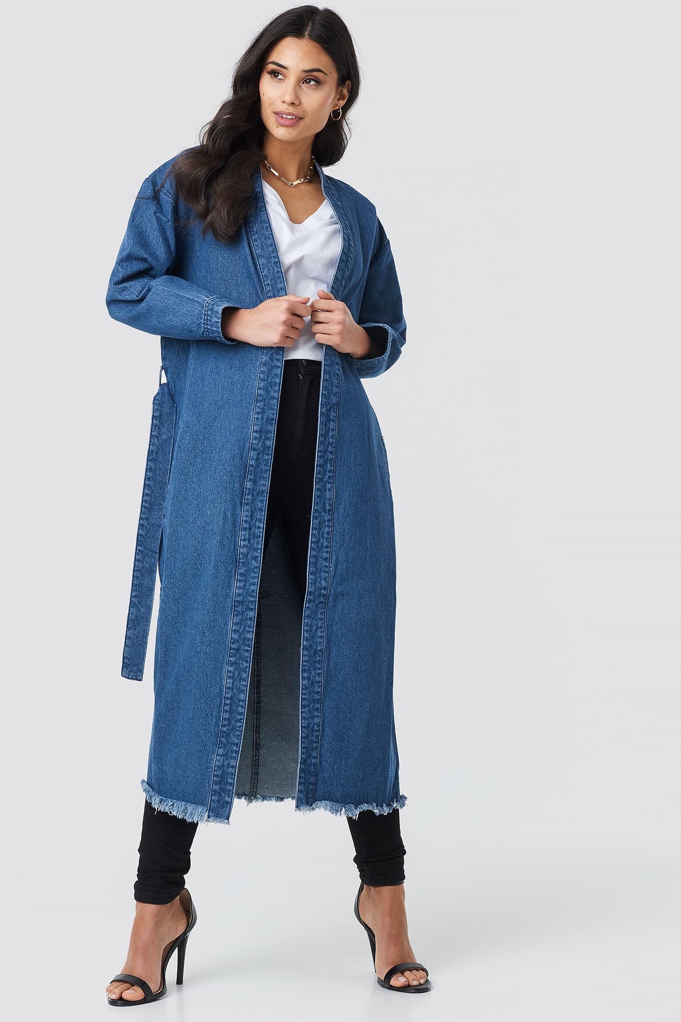 Denim Coat NA-KD.COM