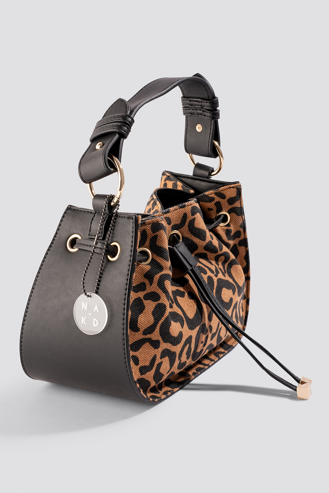 Denim Drawstring Bag NA-KD.COM