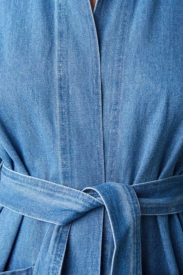 Denim Kimono Medium Wash