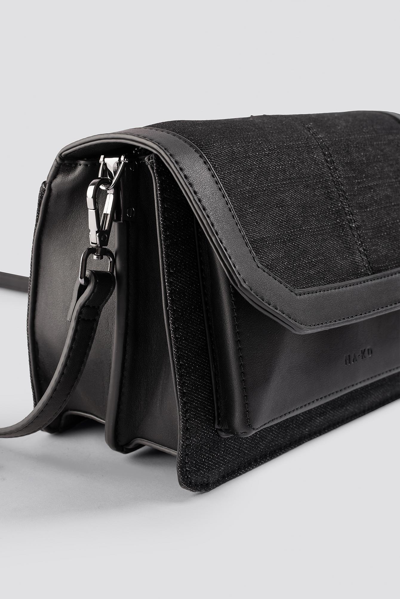 Denim Shoulderbag With Chain Strap NA-KD.COM