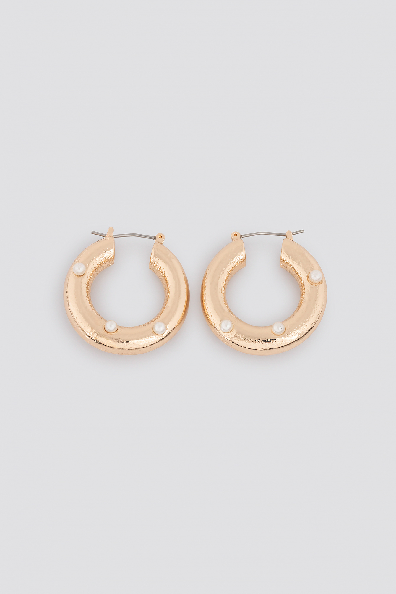 Detailed Thick Hoop Earrings NA-KD.COM