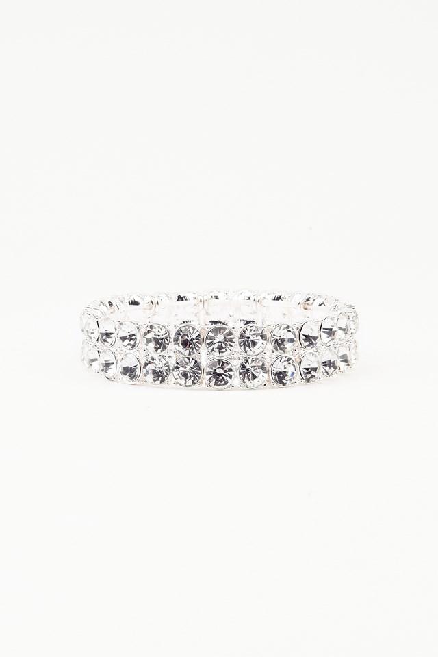 Diamond Anklet Silver