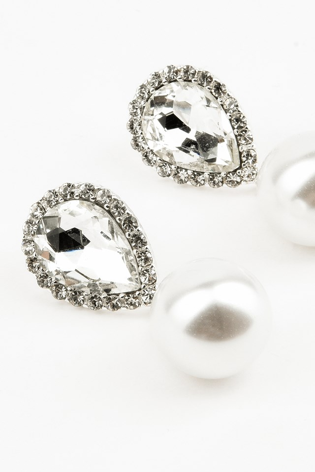 Diamond Pearl Earring NA-KD.COM