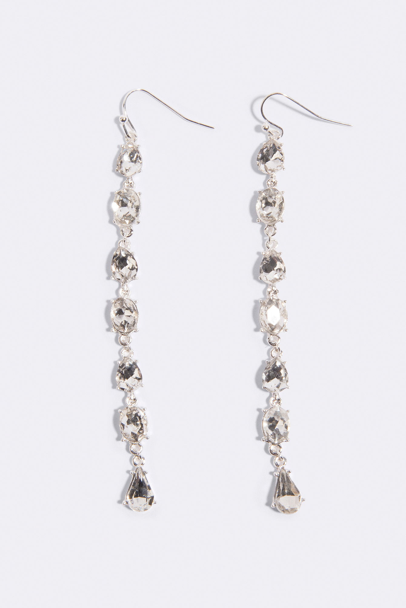 Diamond Strand Drop Earrings NA-KD.COM