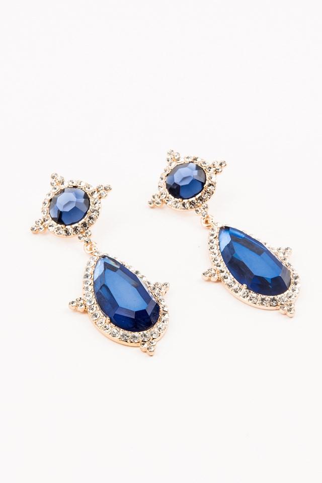 Diamond Teardrop Earring NA-KD.COM