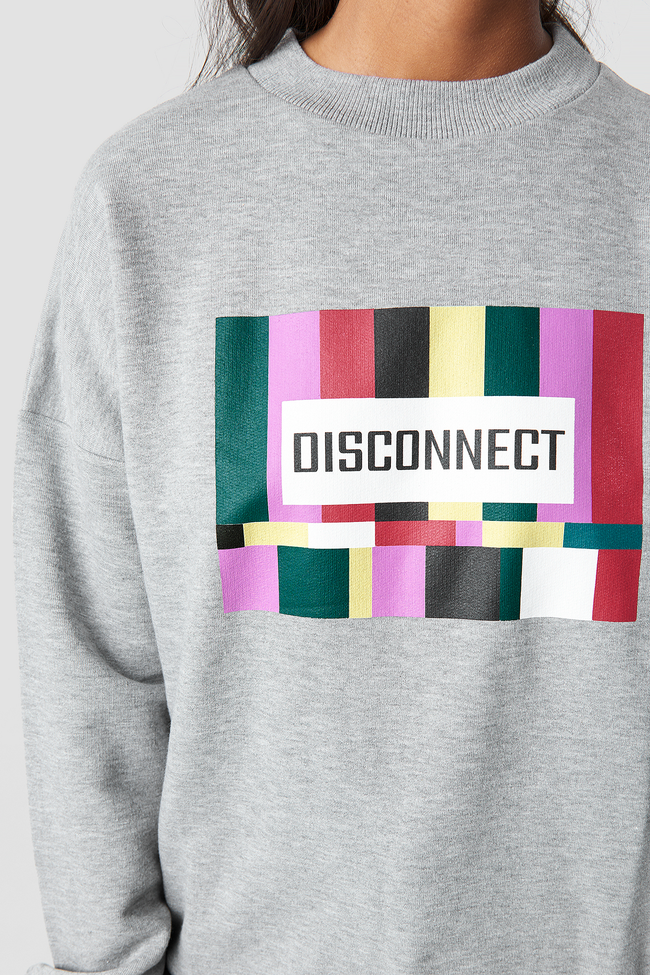 Disconnect Sweatshirt NA-KD.COM