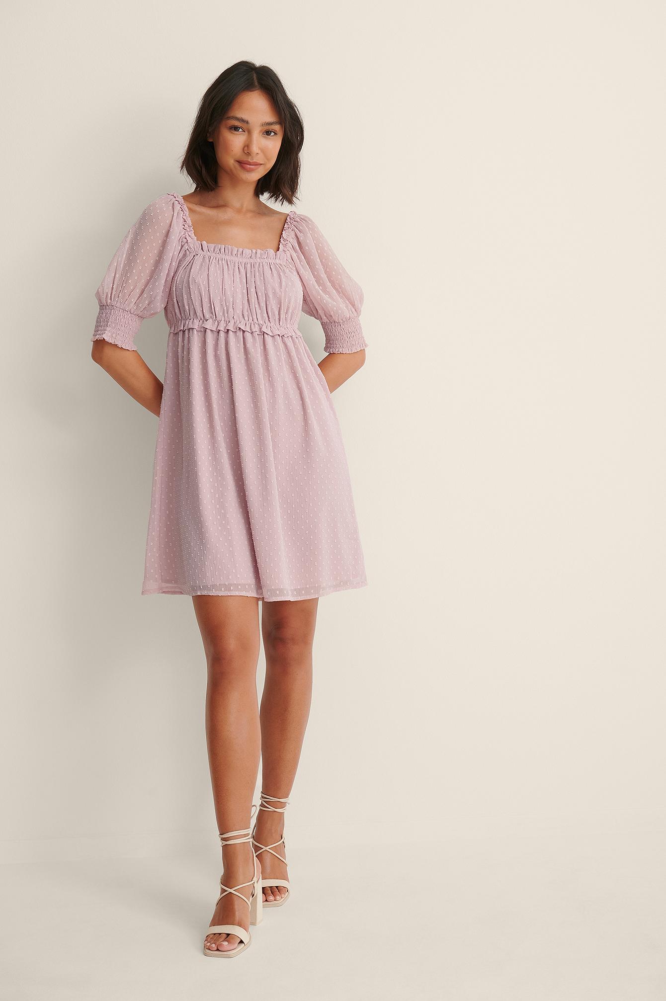 na-kd -  Dobby-Minikleid - Pink