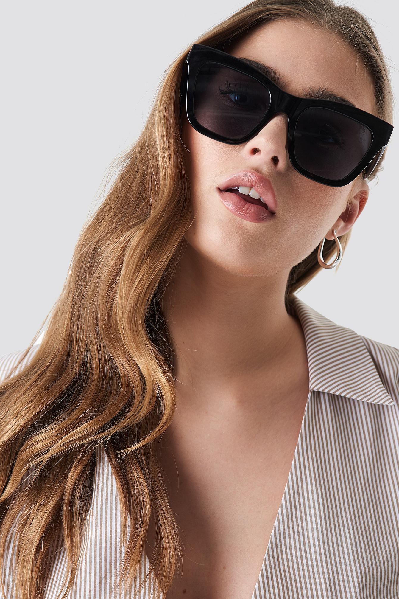 Square Shape Chunky Sunglasses NA-KD.COM