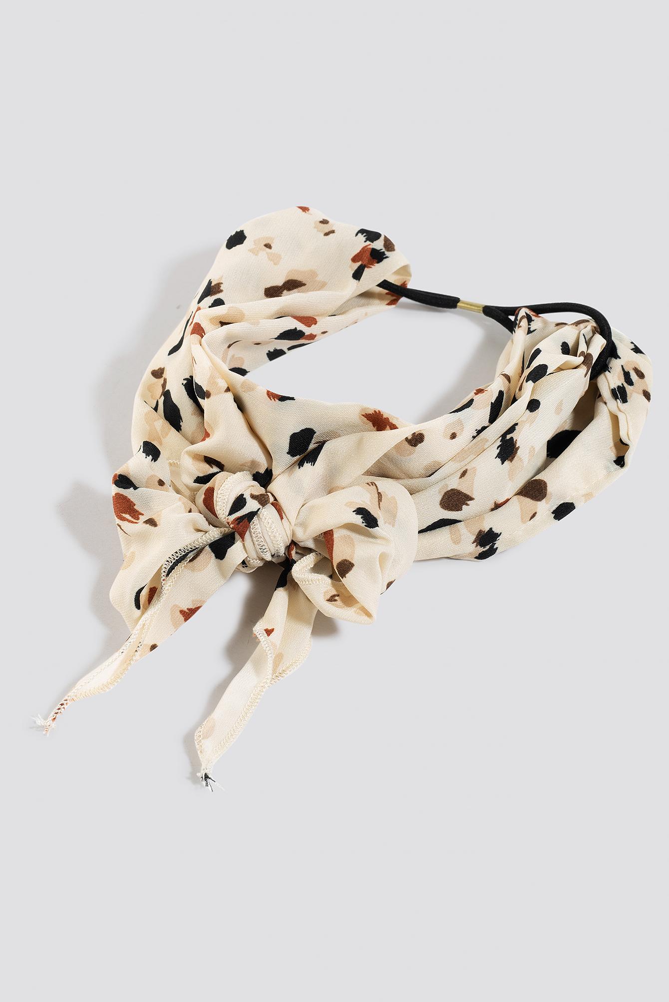 Dotted Big Bow Hairband NA-KD.COM