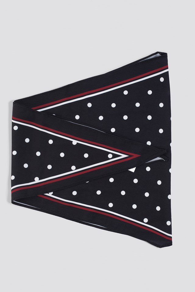 Dotted Hair Scarf NA-KD.COM