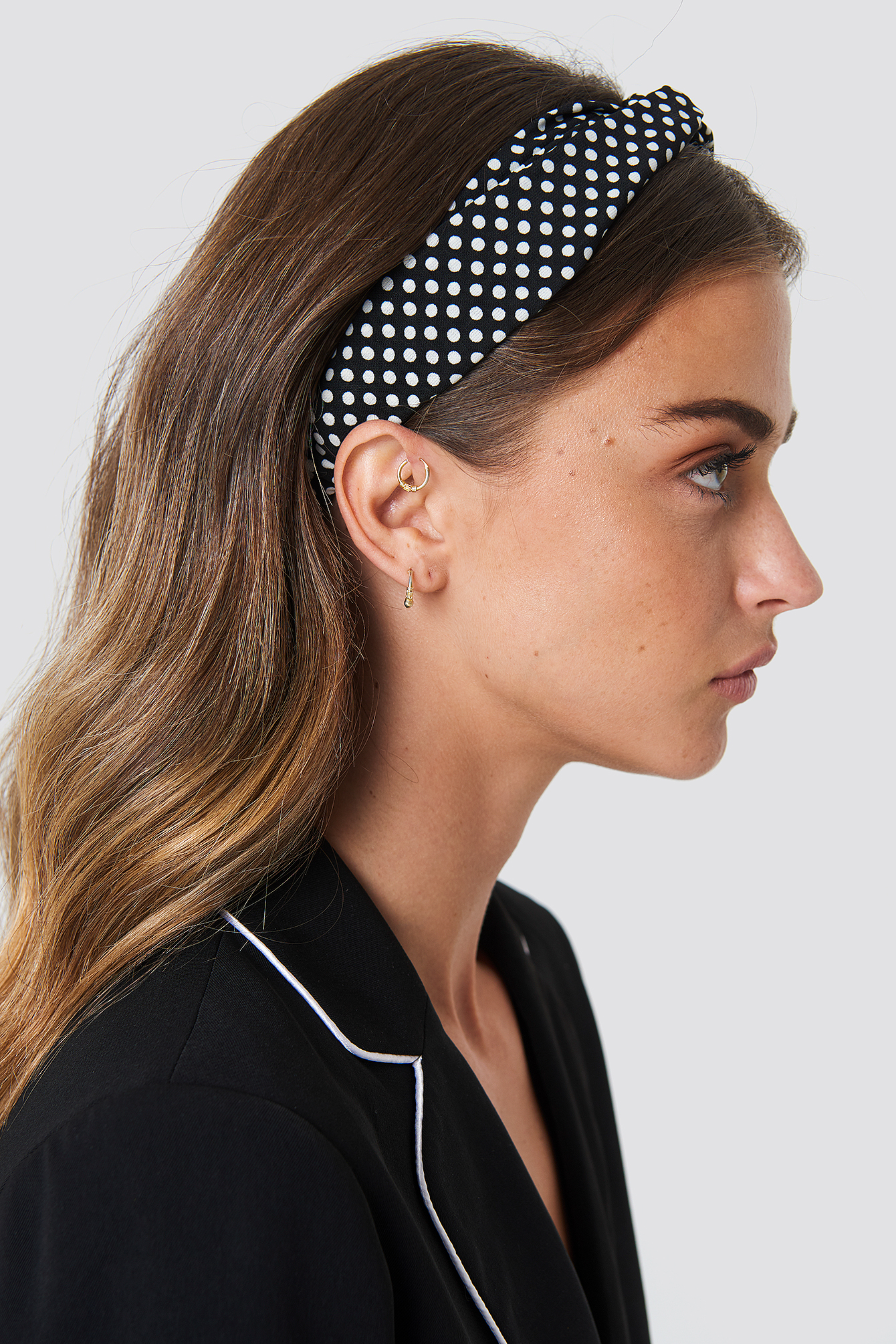 Dotted Hairband - Black