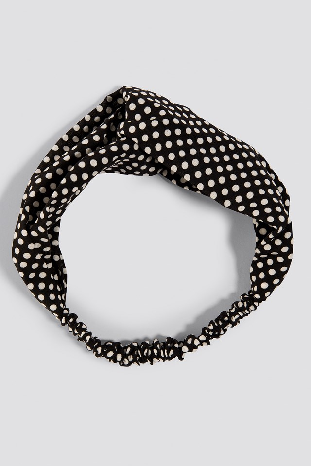Dotted Hairband Black