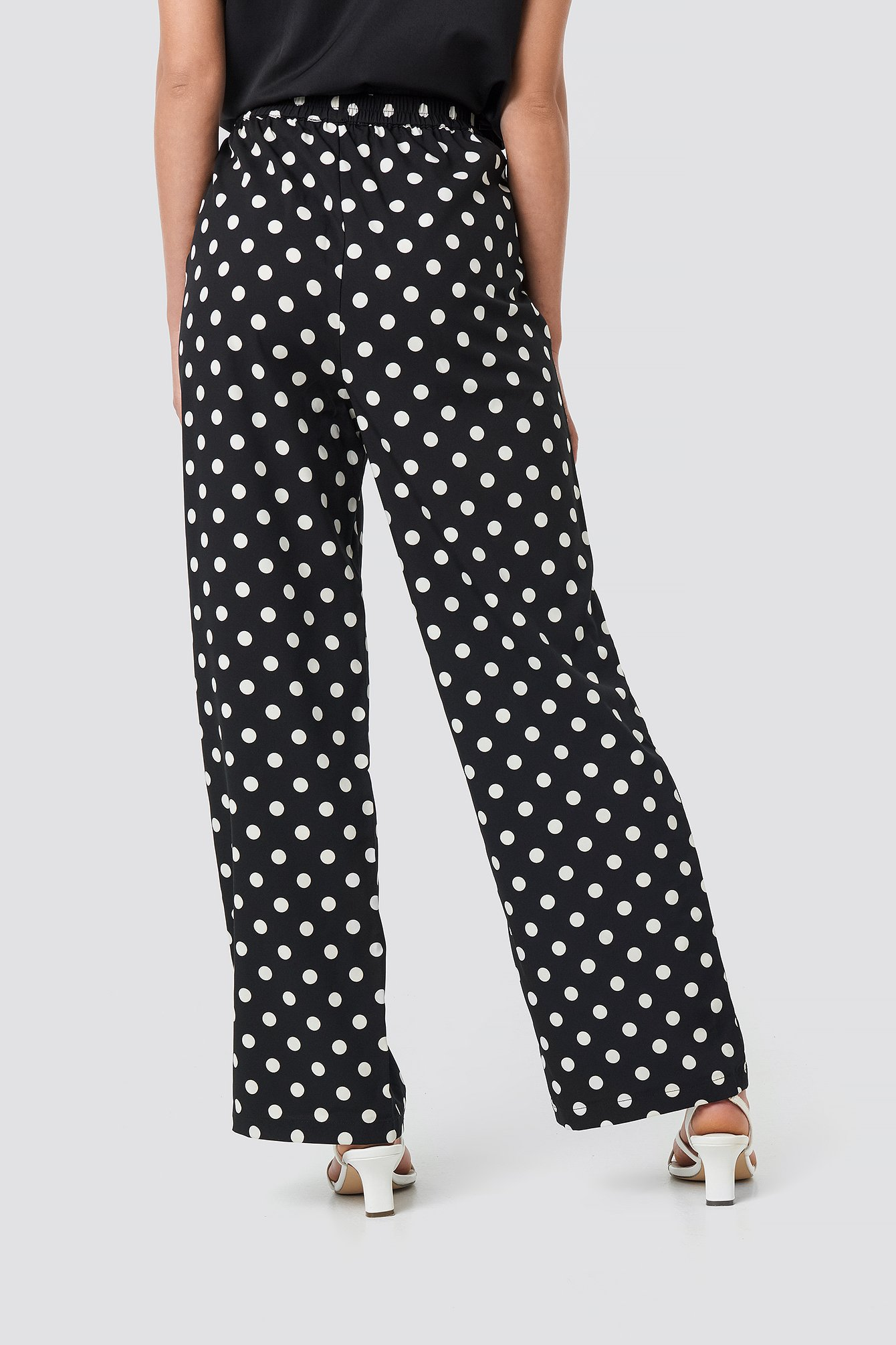 Dotted Wide Pants NA-KD.COM