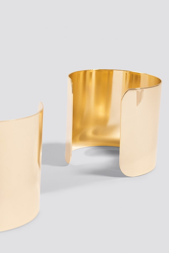 Double Arm Cuff Gold