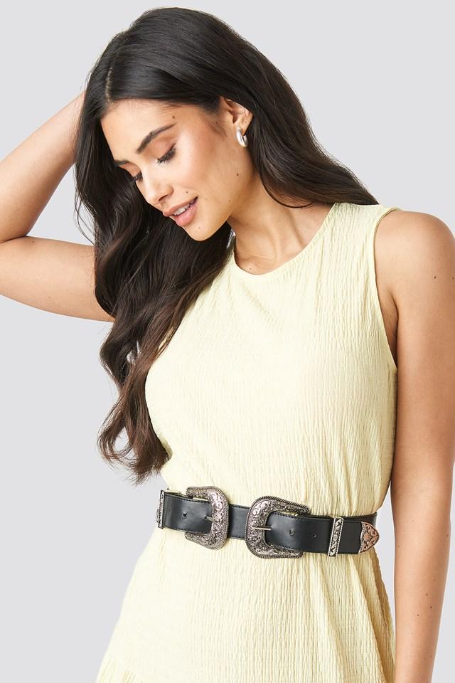 Double Buckle Belt NA-KD.COM