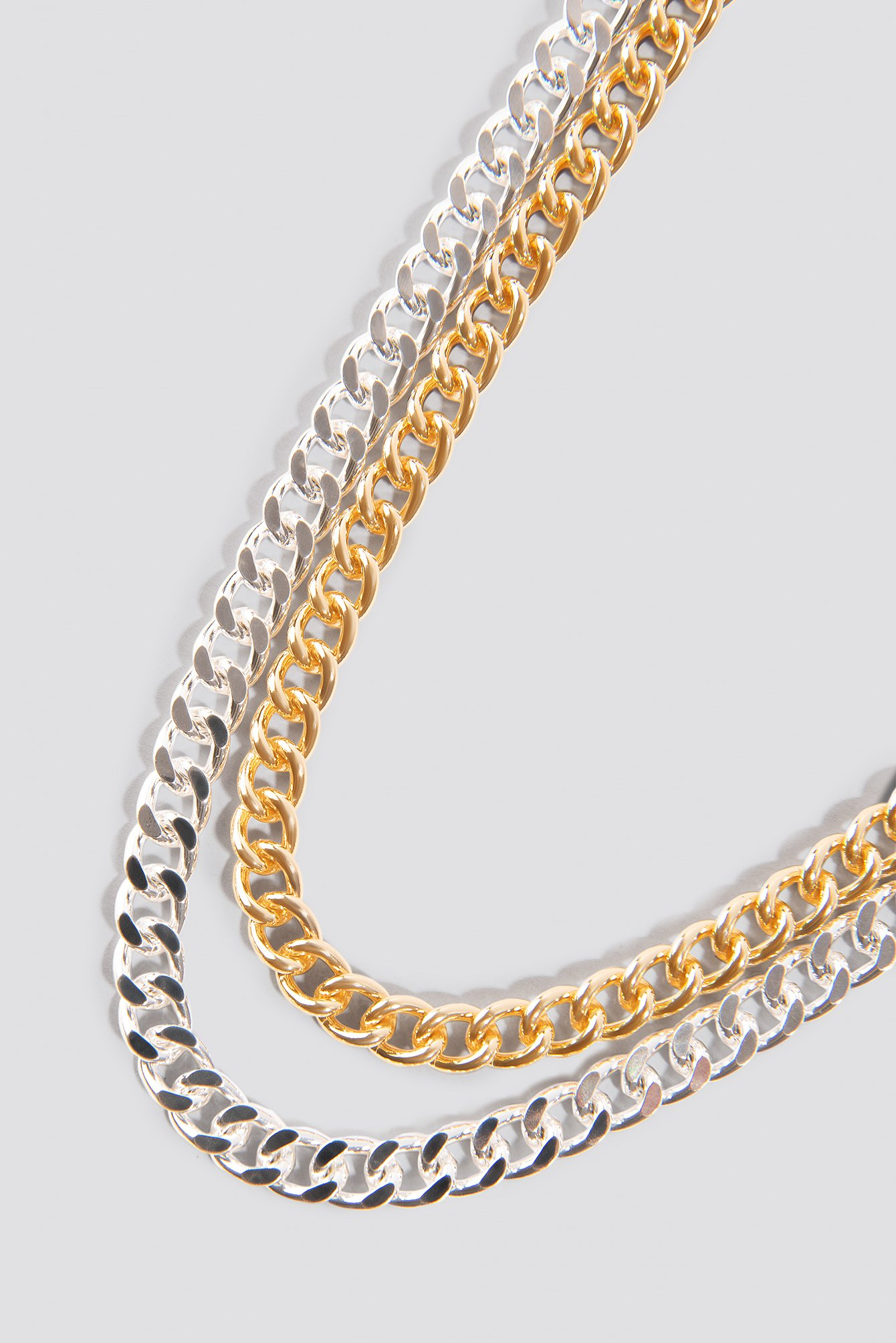 Double Chunky Chain Necklaces NA-KD.COM