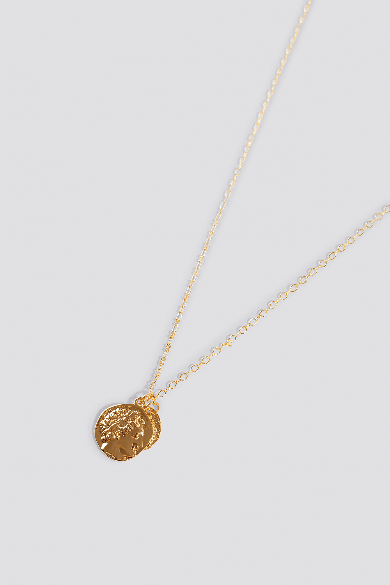 Double Coin Necklace NA-KD.COM