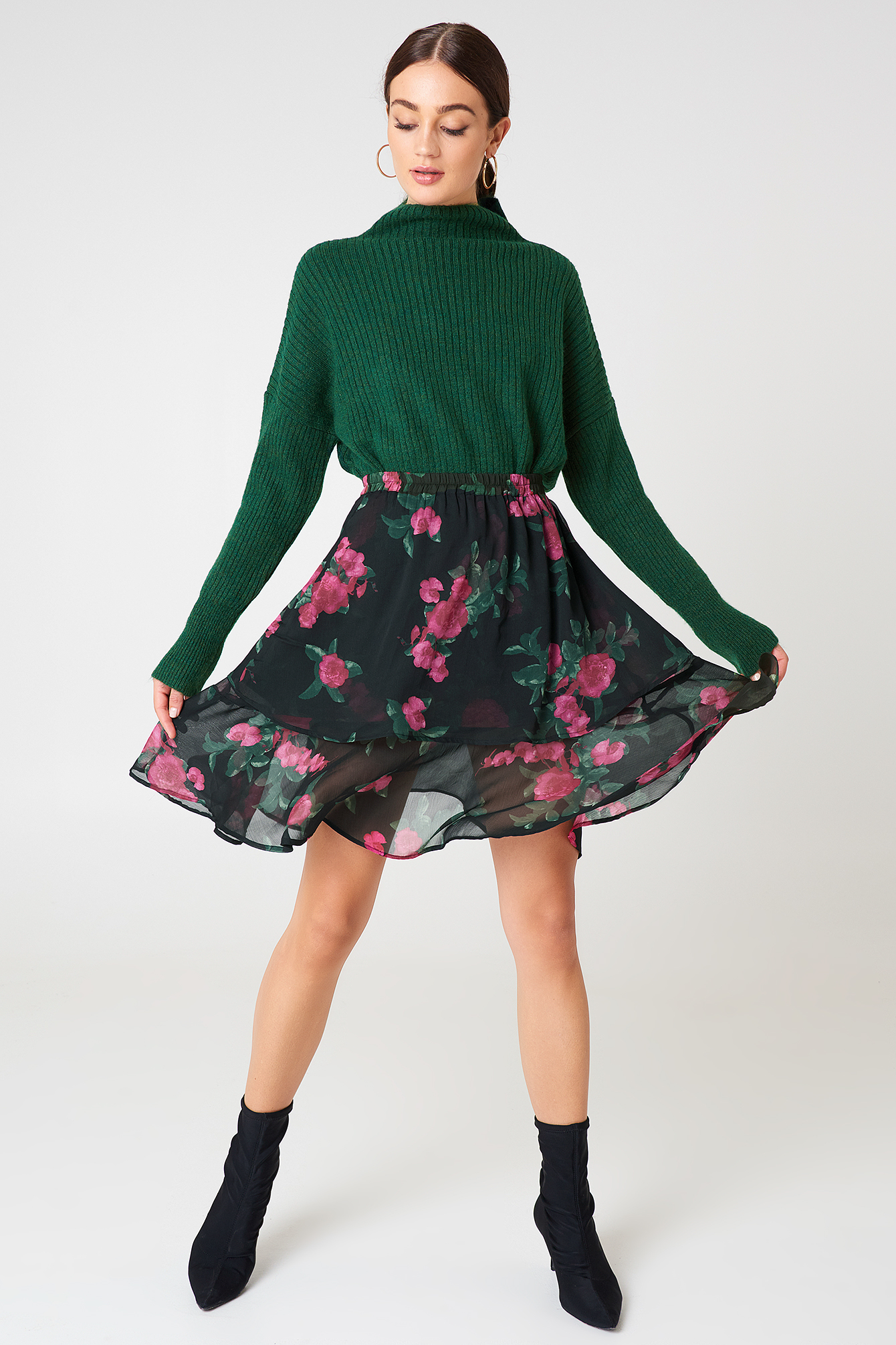 Double Frill Skirt